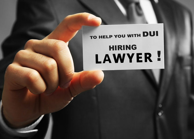 Hiring a Lawyer to Help You with a DUI